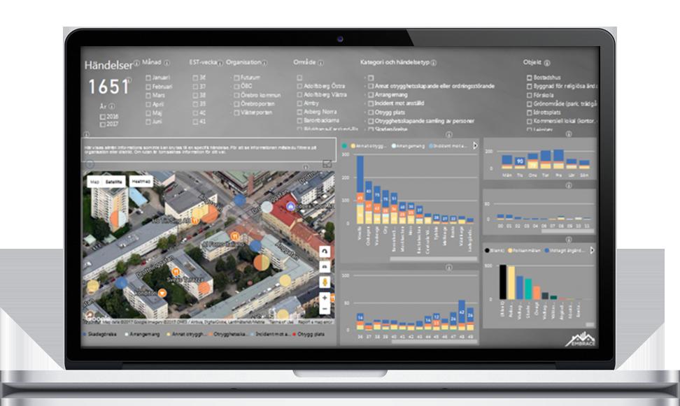 Stöd för kartläggning och analys: Var och när?