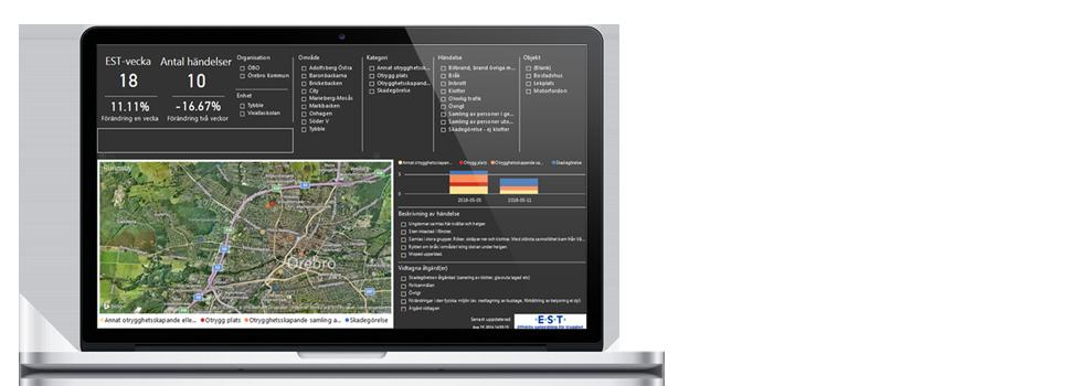 Stöd för kartläggning och analys: Var sker ökningar och minskningar och varför?