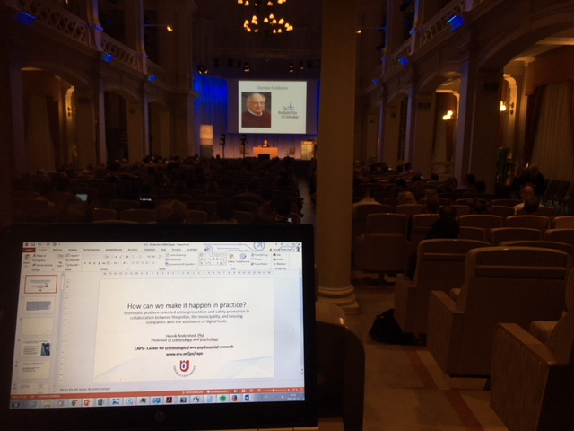 Nyheter: EMBRACE i internationellt perspektiv på Stockholm Criminology Symposium