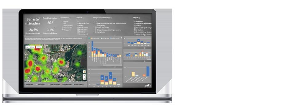 EMBRACE Insight: Stöd för kartläggning och analys – Var sker ökningar och minskningar och varför?