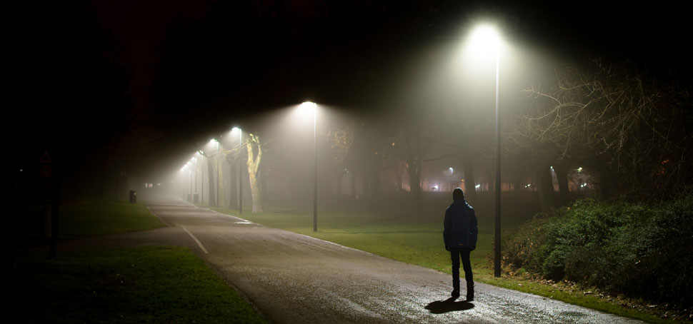 Kontinuerlig rapportering med EMBRACE visade att vissa delar av parken upplevdes väldigt otrygg när mörkt ute – viss problematik med droghandel fanns också.